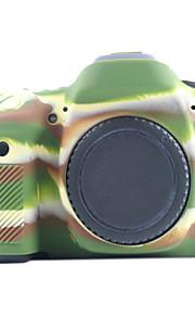 Digitale Camera-Hoes- voorCanon-Eén-schouder- met-Geel Zwart Groen