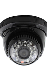 Yanse® cctv home surveillance 3.6mm lens met ir snij dome beveiliging camera 24st infrarood leds zwart