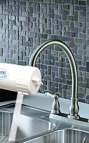 Middenset Waterfiltering with  Keramische ventiel Single Handle Een HoleKeuken Kraan