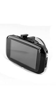 Lcd de 2.7 pulgadas lcd fhd 1080p 170 cámaras digitales ancho del tablero de instrumentos cámara de la rociada del coche con grabación del
