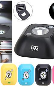 Ywxlight® mini bežični dvojni indukcijski pir infracrveni senzor pokreta stropni senzor tijela noćno svjetlo baterija osvjetljenje