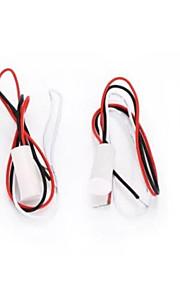 Rc - 35 lampe magnétique câblée / détecteur de porte détecteur alarme de contact avec trois fils 1pcs