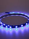 phares de LED Voiture decoratifs 5050-90cm (bleu)