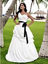 Lanting Bride® A-linje / Prinsesse Petit / Plus Størrelser Brudekjole - Klassisk og tidsløs / Chic og moderne / Elegant og luksuriøs