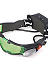 lunettes de vision nocturne avec eclairage LED verte lentille teintee avec des graphiques graves