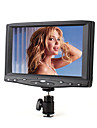 Small Portable 7inch On-Camera Field HD Monitor with VGA and Composite AV input