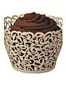 ivoor lasergesneden cupcake wrappers (set van 12)