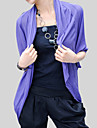 Office & Career Cotton Coats/Jackets Half-Sleeve Wedding  Wraps