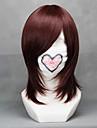 Cosplay Peruker Vocaloid Meiko Röd Kort Animé/ Videospel Cosplay Peruker 40 CM Värmebeständigt Fiber Kvinna