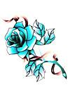 5 st blomma vattentäta tillfällig tatuering (6m * 6 cm)
