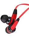 3,5 millimetri stereo di linea di moda piatto cuffie in-ear