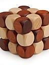 Cube de vitesse lisse 3*3*3 Cubes magiques Bois