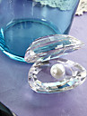 Gifts Bridesmaid Gift Crystal Mussels with Pearl Keepsake