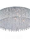 Max 40W Modern Kristall / Glödlampa inkluderad Gyllene Takmonterad Living Room / Bedroom / Studierum/Kontor