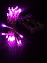 3m 30-led rose 2-mode lampe led chaine de fees pour Noel (3xAA)