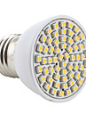3W E26/E27 LED-spotlights MR16 60 SMD 3528 200 lm Varmvit AC 220-240 V