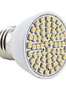 3W E26/E27 Spot LED MR16 60 SMD 3528 200 lm Blanc Chaud AC 100-240 V