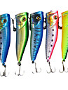 Hard Bait Popper 70MM 10G Sinking Fishing Lure (Color Assorted)