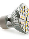 GU10 LED-spotlights MR16 24 SMD 5050 150 lm Varmvit AC 220-240 V