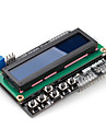 16 x 2 LCD blindage du clavier (pour Arduino) uno mega duemilanove