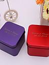 24 Piece/Set Favor Holder - Cuboid Metal Favor Tins and Pails/Favor Boxes Personalized