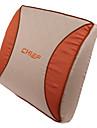 hög kvalitet bil kallskum ländryggen kudde, orange humör (1 par)