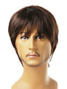 Capless Short High Quality Synthetic Brown Straight Hair Wig