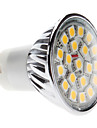 4W GU10 LED-spotlights MR16 20 SMD 5050 400 lm Varmvit AC 220-240 V