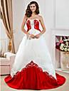 MARTINA - Kleid fuer die Braut aus Satin