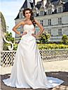 ELFTRAUD - שמלת חתונה מ- סאטן
