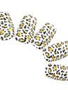 24st heltäckande Finger Akryl Fransk Falska Nail Art Tips