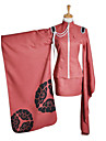 Inspired by Vocaloid Meiko Video Game Cosplay Costumes Cosplay Suits / Kimono Print Pink Long Sleeve Coat / Skirt / Hat