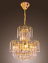 FOLKESTONE - Lustre Cristal - 10 slots a ampoule
