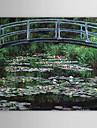 Pictat manual Faimos Un Panou Canava Hang-pictate pictură în ulei For Pagina de decorare