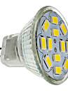6W GU4(MR11) LED Spot Lampen MR11 12 SMD 5730 570 lm Warmes Weiss DC 12 V