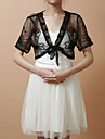 Party/Evening / Casual Tulle Wedding  Wraps Coats/Jackets Short Sleeve