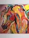 La main peinture a l\'huile Painted Horse Resume 1303-AB0425
