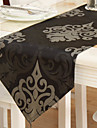 Traditional Floral Brown Table Runners