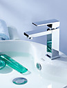 Contemporain Set de centre Pivotant with  Valve en ceramique Mitigeur un trou for  Chrome , Robinet lavabo
