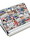"""""""Tidningen"""" mönster laptop skyddande Vinylsticker för 10 """"/ 15"""" laptop 18586 (15 """"lämplig för under 15"""")"""