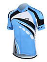 Santic 100% Poliester Fiber manga curta respiravel + secagem rapida Men Ciclismo Jersey (2 cores)