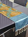 A Motifs Polyester Rectangulaire Chemins de table