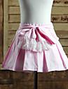 Jupe Doux Lolita Cosplay Vetrements Lolita Couleur Pleine Lolita Court Jupe Pour Coton