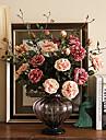Une succursale Soie Pivoines Fleur de Table Fleurs artificielles #(14*14*18)