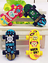 Skateboard Shaped Eraser (2 st)