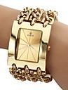 Men's Analog Quartz Gold Steel Band Bracelet Watch (Assorted Colors) Cool Watch Unique Watch