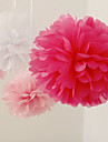 Wedding Décor 10 inch Paper Flower - Set of 4 (More Colors)
