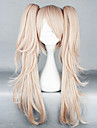 Cosplay Wigs Dangan Ronpa Junko Enoshima Pink Medium Anime/ Video Games Cosplay Wigs 65 CM Heat Resistant Fiber Female