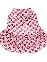 Hundar Klänningar Rosa Hundkläder Sommar Rosett