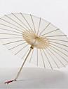 """Bumbac Ventilatoare și umbrele de soare Piece / Set Umbrele de soare Temă Asiatică Alb22 4/5"""" l x 33 1/2"""" în diametru(58cm lungime × 85cm"""